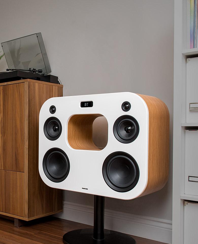 Ai60 Powered Bookshelf Speakers