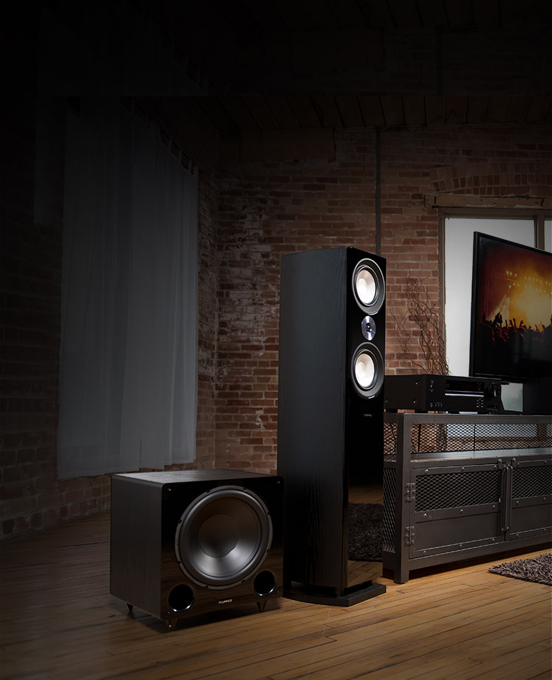 Ai60 Powered Bookshelf Speakers