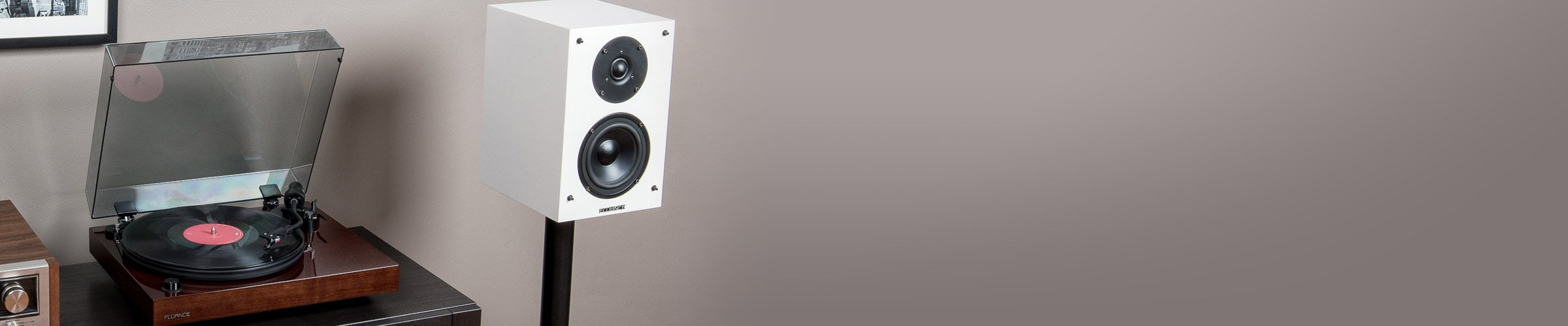SX6-BK Bookshelf Surround Sound Speakers for Home Theater