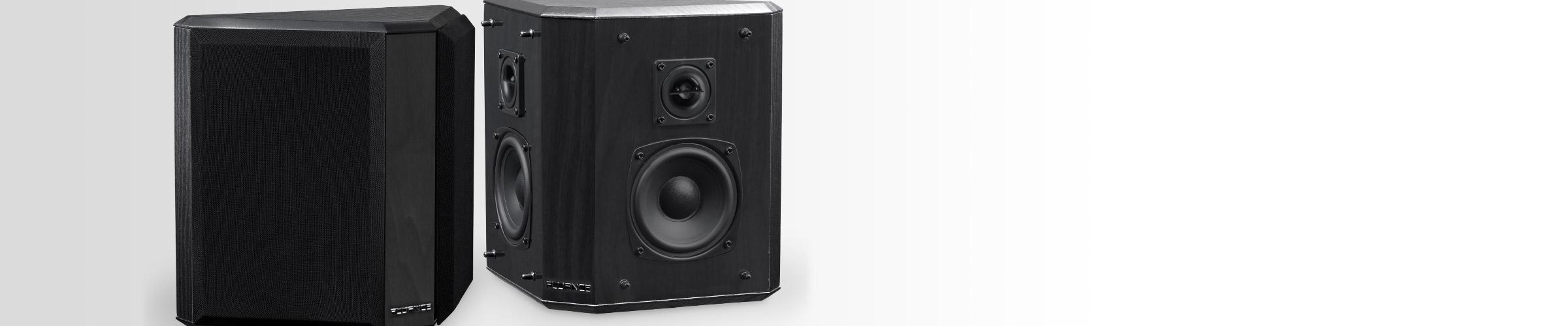 SXBP2 Bipolar Surround Sound Speakers wide dispersion