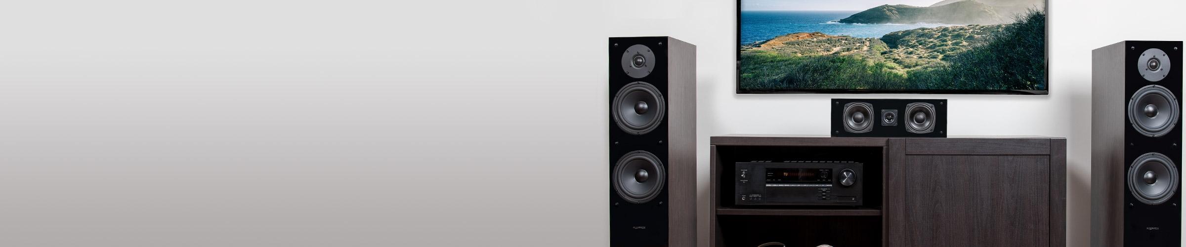 SXHTB Home Theater Speaker System Sleek