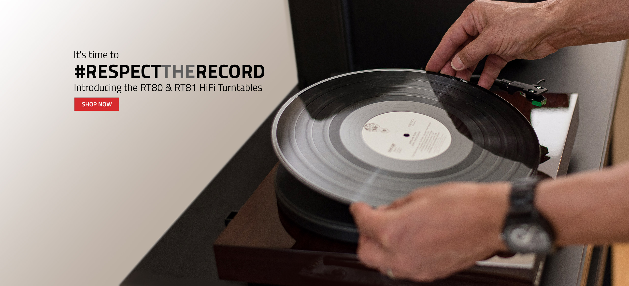 RT80 Record Player