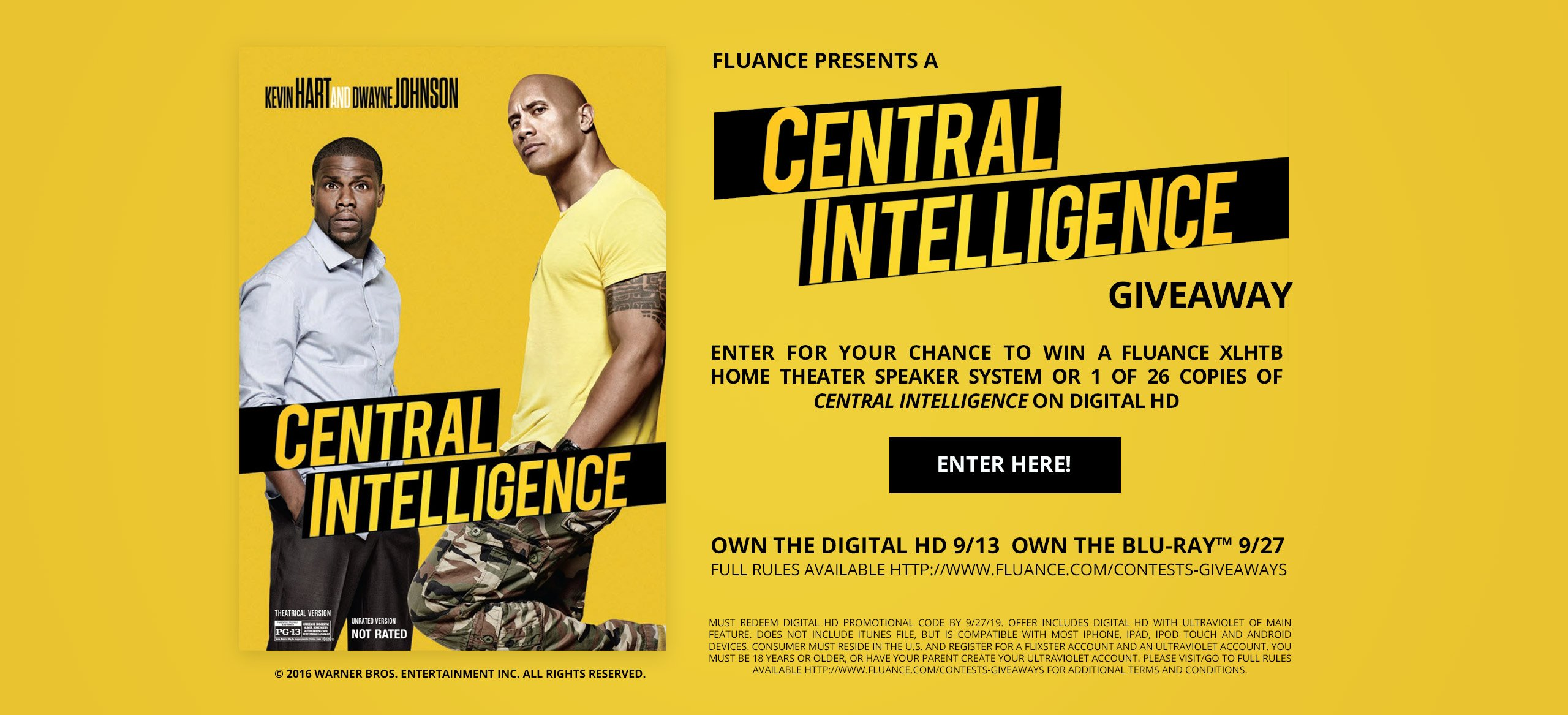 Central Intelligence contest