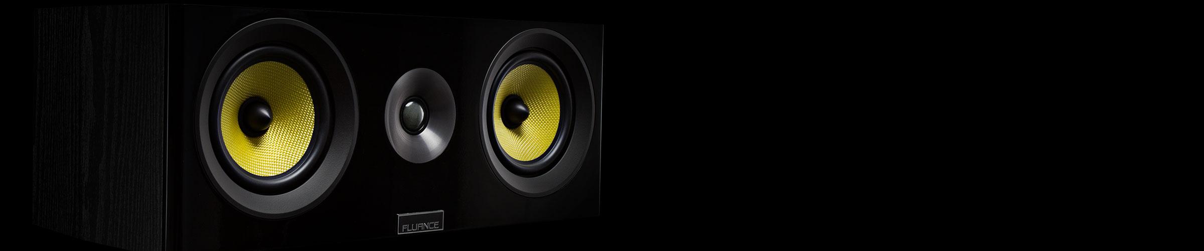 Signature Series Center Channel Speaker sound