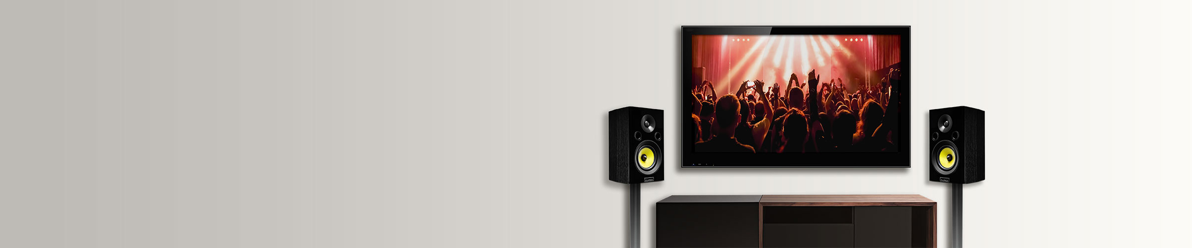 Fluance signature series surround sound speakers features